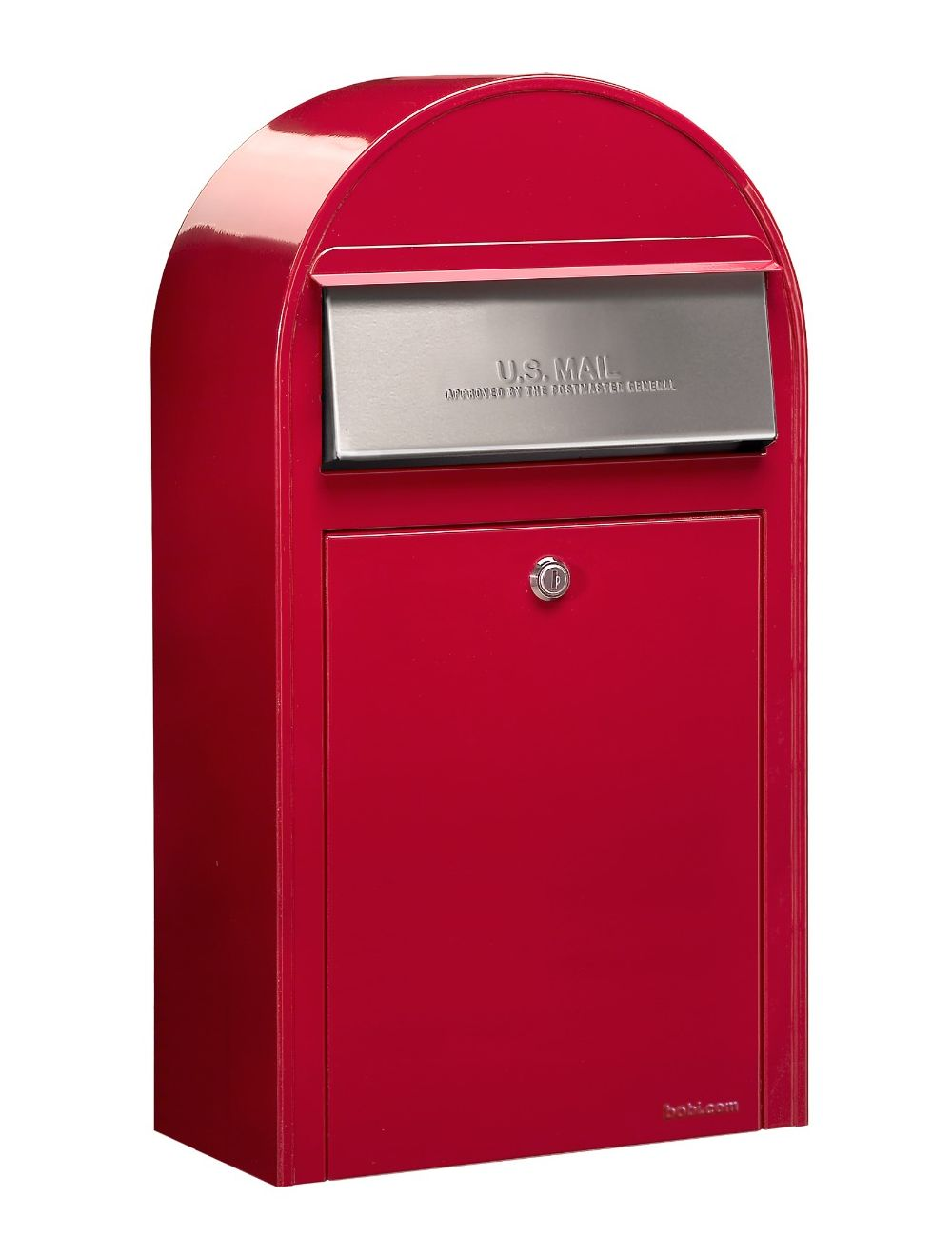 USPS Bobi Grande (S) Slim Red Mailbox