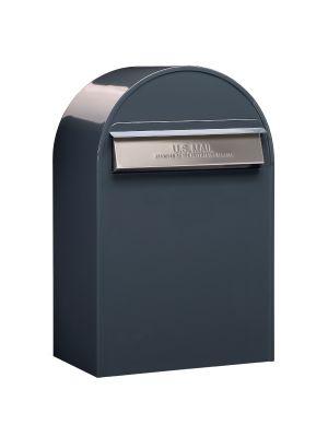 USPS Bobi Classic (B) Rear Access Mailbox Grey