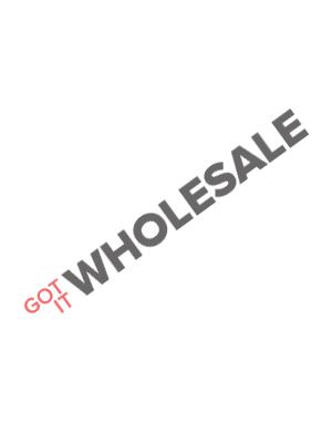 Knobloch Beverly Locking Surface Mount Mailbox in Deep Black / Traffic White