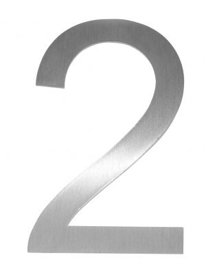 Knobloch Little Burns Stainless Steel House Number - 2