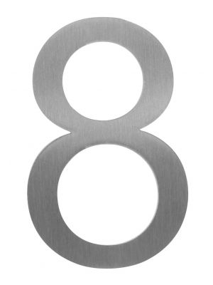 Knobloch Little Burns Stainless Steel House Number - 8