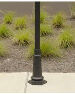 Courtyard Outdoor Post Light Base